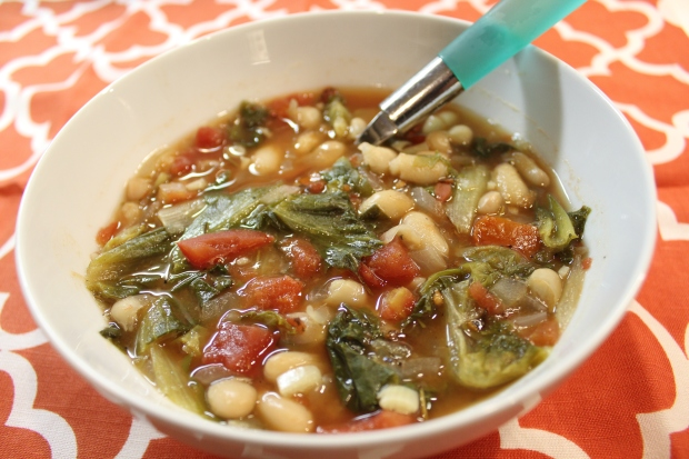White Bean & Escarole Soup