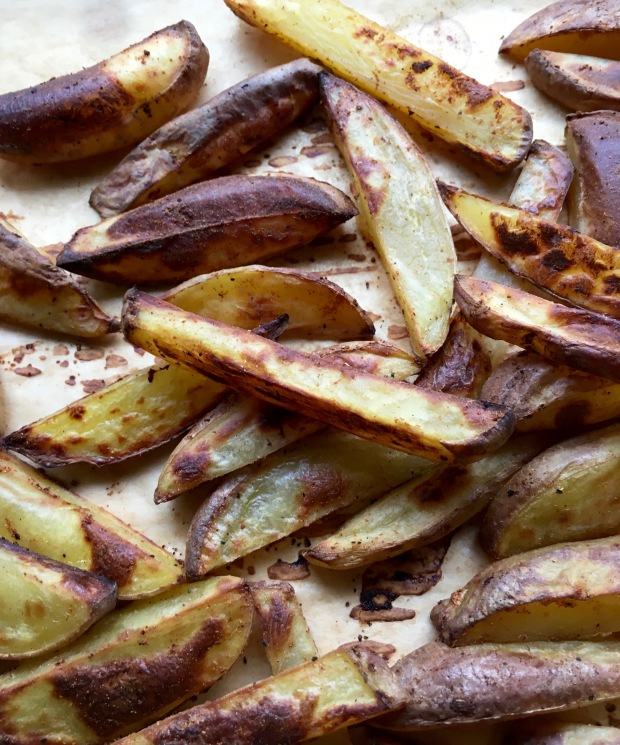 "Roasted Potato ""Fries""/noursihyourselfnow.com"